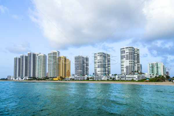 fishing Pier in Sunny Isles Beach , Florida  Stock photo © meinzahn