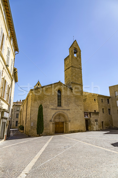 old church saint laurent in Salon de provence  Stock photo © meinzahn