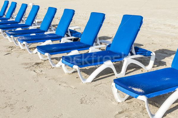 Tengerpart Miami üres nap óceán felirat Stock fotó © meinzahn