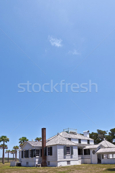 old typical historic farmhouse in south Carolina Stock photo © meinzahn