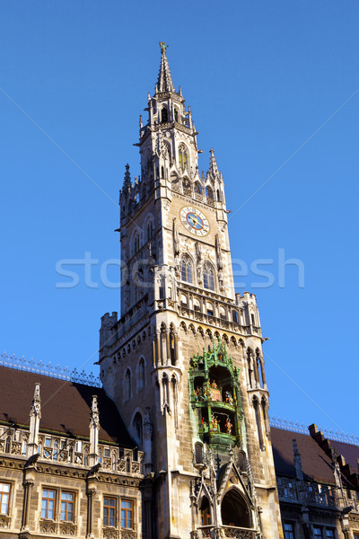Мюнхен город зале здании дизайна искусства Сток-фото © meinzahn