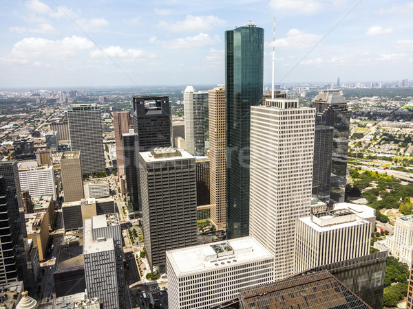 Stockfoto: Skyline · Houston · Texas · dag · kantoor · stad