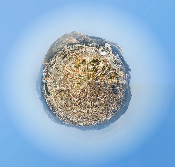 Marseille la hemel water huis Stockfoto © meinzahn
