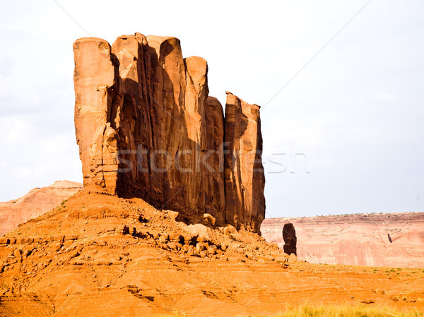 The Camel Butte is a giant sandstone formation in the Monument v Stock photo © meinzahn