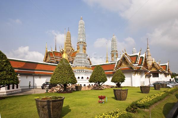 有名な 宮殿 バンコク 寺 エメラルド 仏 ストックフォト © meinzahn