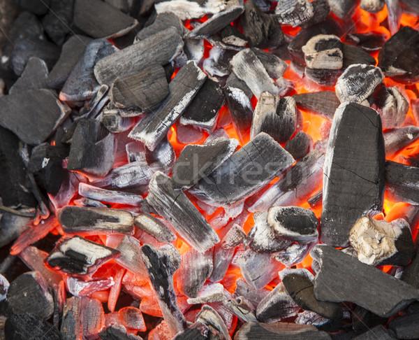 charcoal background  Stock photo © meinzahn