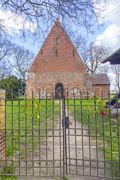 old church of Netzelkow  Stock photo © meinzahn