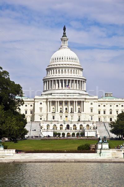 Washington iroda ház város kék felhő Stock fotó © meinzahn