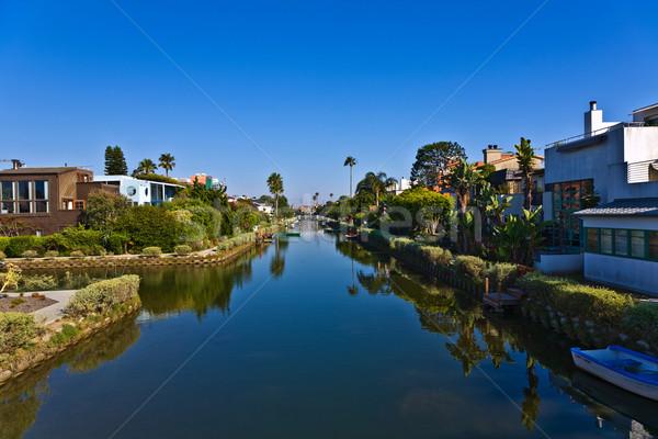 Vieux Venise Californie belle vie construire Photo stock © meinzahn