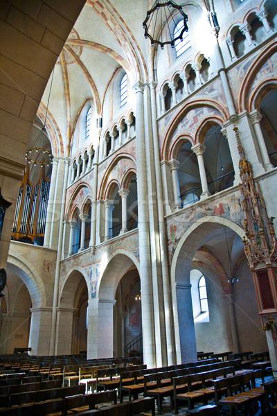 Famoso gótico cúpula dentro Alemania hermosa Foto stock © meinzahn