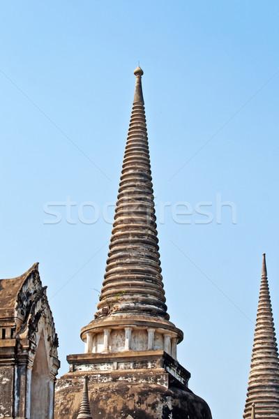 ünlü tapınak kraliyet saray gökyüzü mavi Stok fotoğraf © meinzahn