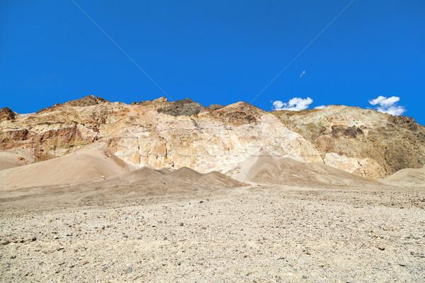 Piękna rock dysk śmierci dolinie drogowego Zdjęcia stock © meinzahn