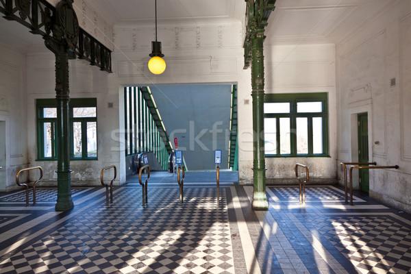 Escénico metro estación Viena art deco estilo Foto stock © meinzahn