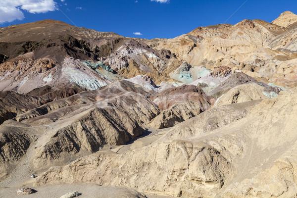Paleta muerte valle carretera desierto azul Foto stock © meinzahn