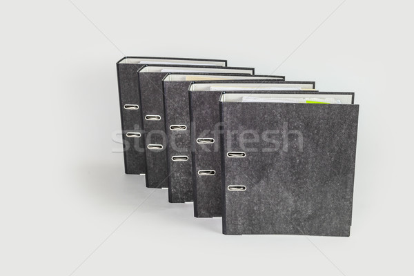 file folder on white background Stock photo © meinzahn