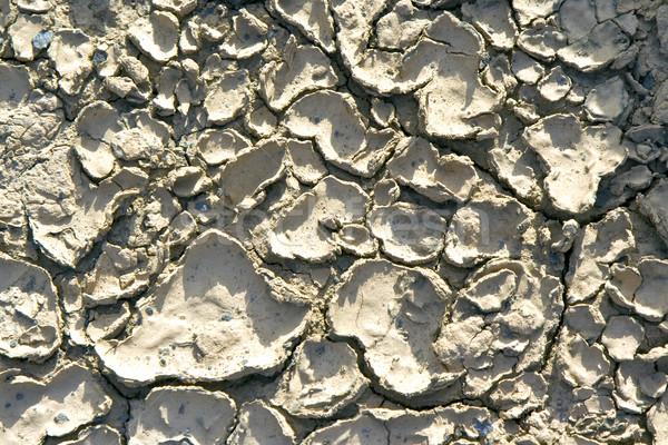 Taş yapı sahil hat kırık ısı Stok fotoğraf © meinzahn