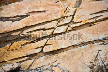 красивой шаблон каменные побережье Таиланд воды Сток-фото © meinzahn