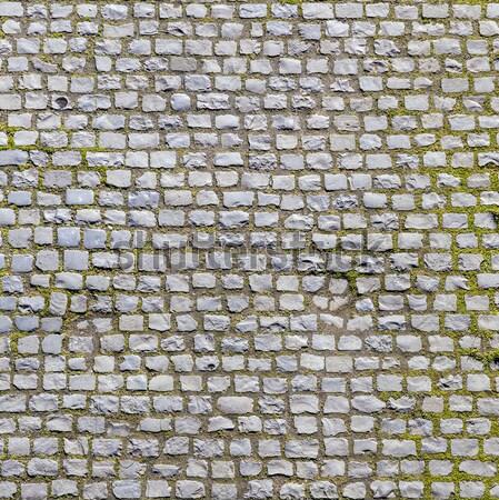 Kő járda textúra öreg út város Stock fotó © meinzahn