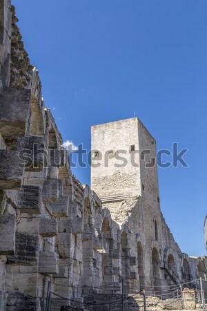 Rovina tempio Perù sud america muro mattone Foto d'archivio © meinzahn