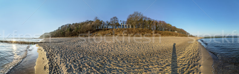 Dune landscape at the baltic sea in Koserow, Usedom Stock photo © meinzahn