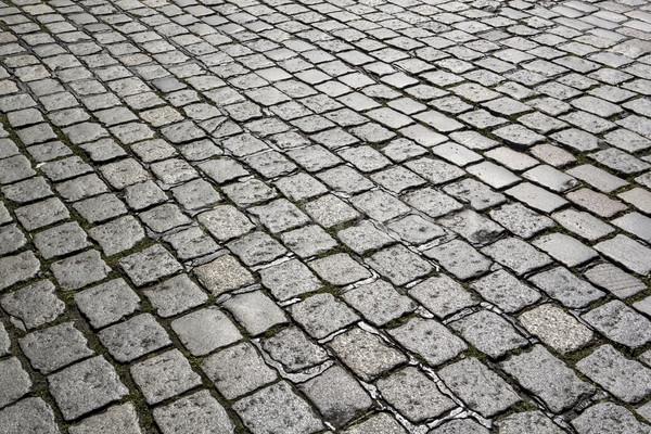 Pormenor pedra rua harmônico padrão rocha Foto stock © meinzahn