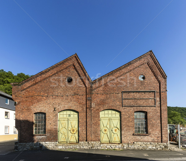 old industrial brick building Stock photo © meinzahn
