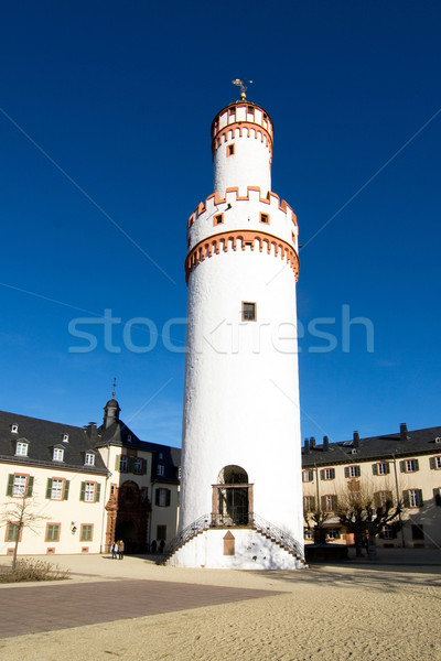 famous tower of the castle in Bad Homburg, original location for Stock photo © meinzahn
