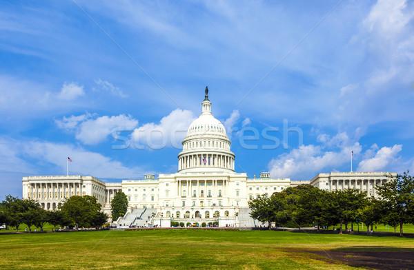the Capitol in Washington Stock photo © meinzahn