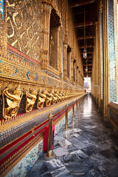 ünlü tapınak kapalı altın iç ev Stok fotoğraf © meinzahn