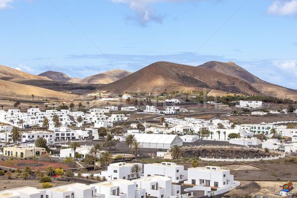 Village Uga on Canary Island Lanzarote, Spain  Stock photo © meinzahn