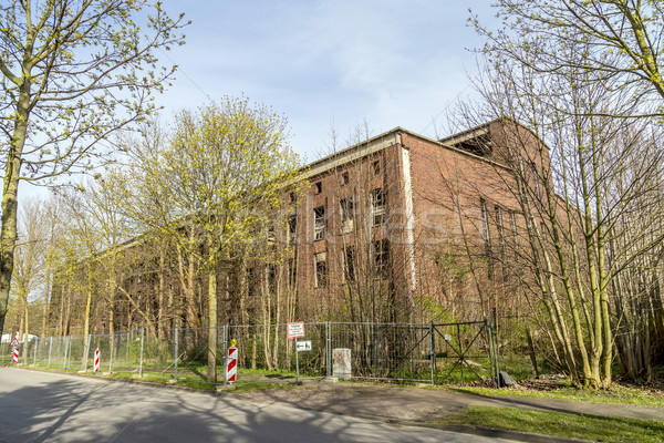 Old German WW2 V2 rocket-factory   Stock photo © meinzahn