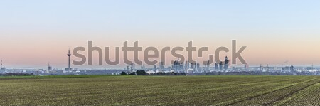 Stockfoto: Panoramisch · Frankfurt · hoofd- · horizon