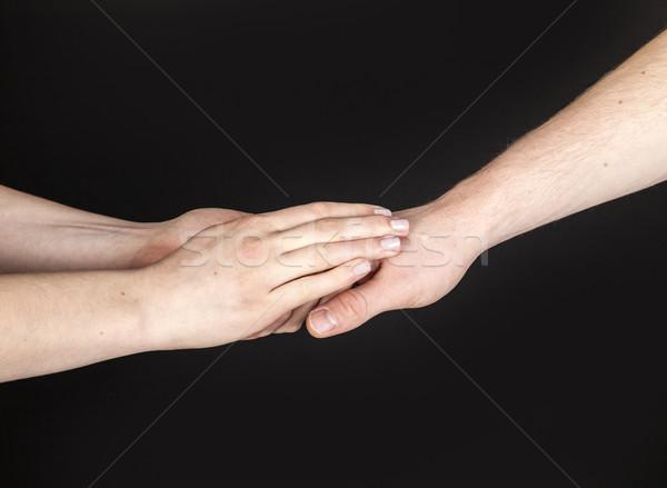 手 二人 触れる チーム 人間 オブジェクト ストックフォト © meinzahn