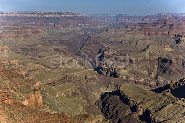 Grand Canyon tramonto fiume Colorado estate blu Foto d'archivio © meinzahn