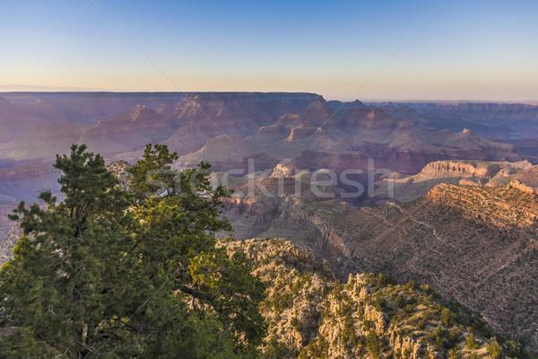 Espetacular pôr do sol Grand Canyon Arizona natureza montanha Foto stock © meinzahn
