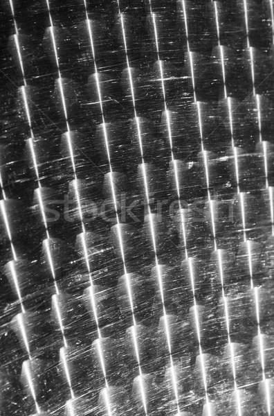 sun reflection on a metal desk Stock photo © meinzahn