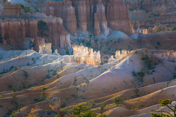 Stock photo: beautiful landscape in Bryce Canyon