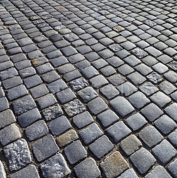 texture of cobblestone background Stock photo © meinzahn