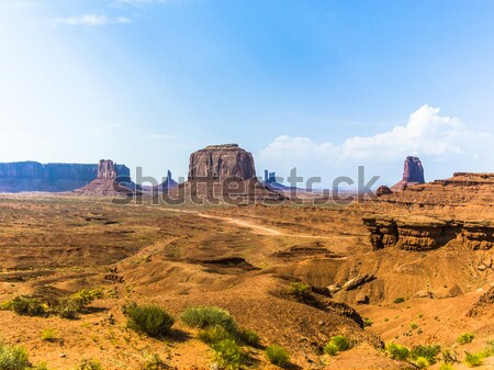 The King on his Throne is a giant sandstone formation in the Mon Stock photo © meinzahn