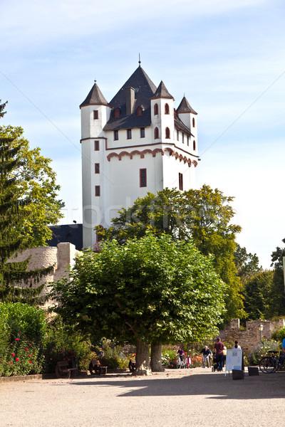 Castle in Eltville/Germany Stock photo © meinzahn