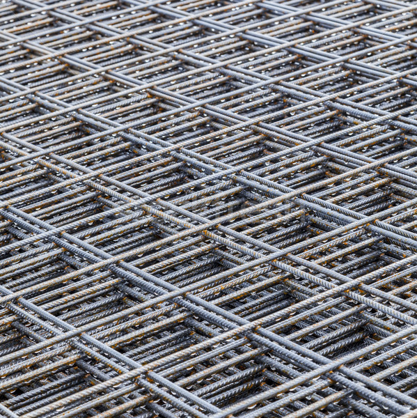Steel Bars Stacked For Construction  Stock photo © meinzahn