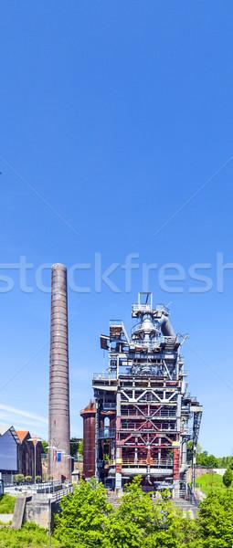 old iron works monuments in Neunkirchen Stock photo © meinzahn