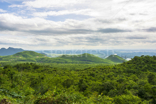 landscape in the mountains of Myanmar at Pyin Oo Lwin Stock photo © meinzahn