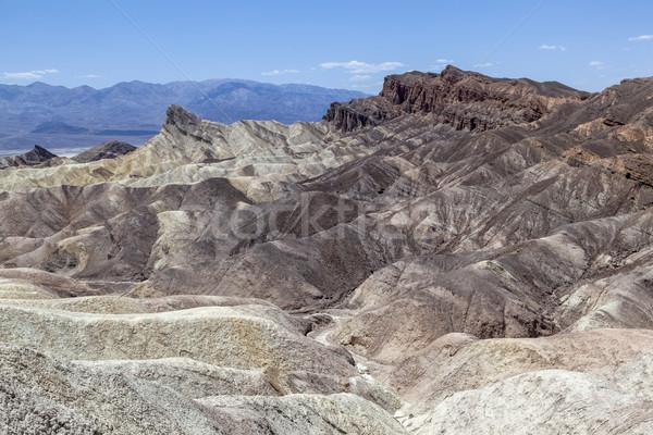 Punkt śmierci dolinie charakter krajobraz podróży Zdjęcia stock © meinzahn