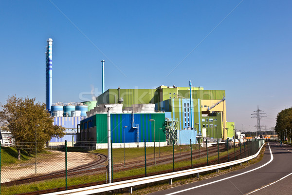 power plant of an Industry Park in beautiful landscape  Stock photo © meinzahn