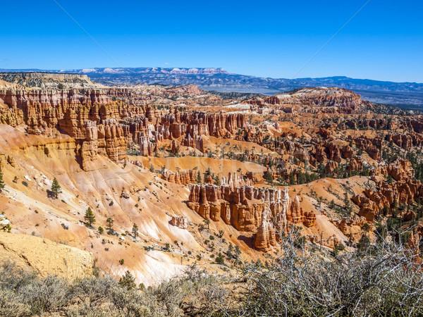 Nagyszerű messze erózió kanyon park Utah Stock fotó © meinzahn