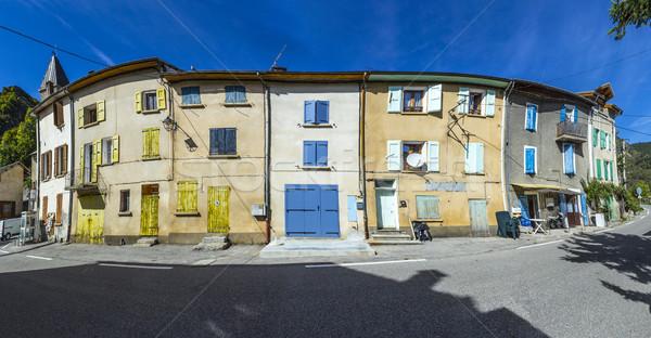 small village of Barles  Stock photo © meinzahn
