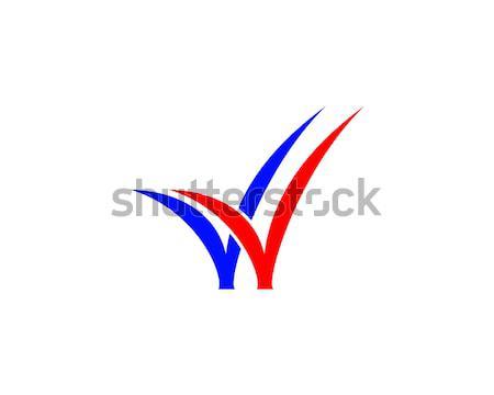 double check logo Stock photo © meisuseno