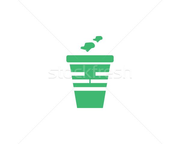 ゴミ ロゴ シンボル 環境の ごみ ストックフォト © meisuseno