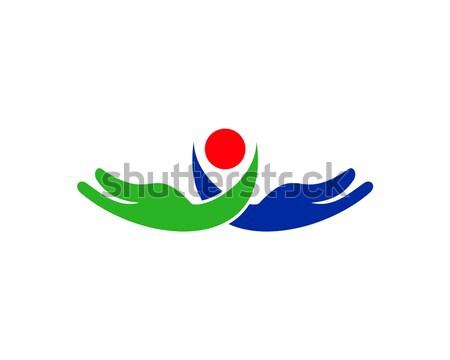 care logo Stock photo © meisuseno